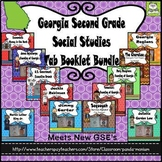 Georgia Second Grade Social Studies Tab Booklet Bundle