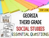 Georgia Social Studies Standards for Third Grade GSE Essential Questions