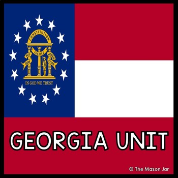 Georgia Social Studies Unit (No Prep)
