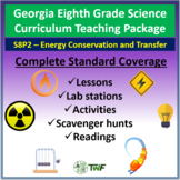 Georgia Standards - 8th Grade - S8P2: Energy Conservation & Transformation