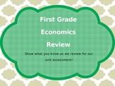 First Grade Georgia Standards Economics Review