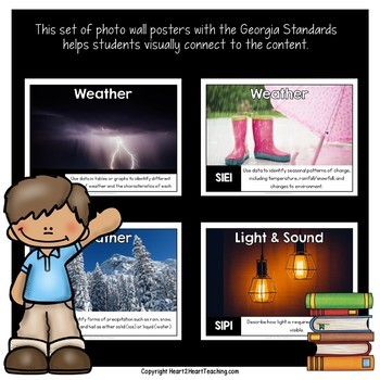 Georgia Standards of Excellence 1st Grade Science Posters