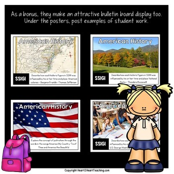Georgia Standards of Excellence 1st Grade Social Studies Posters