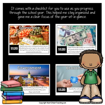 Georgia Standards of Excellence 2nd Grade Social Studies Posters