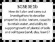 Georgia Standards of Excellence 3rd grade Science Essential Questions/Vocabulary