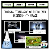 Georgia Standards of Excellence 4th Grade Science Posters