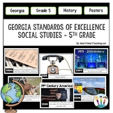 Georgia Standards of Excellence 5th Grade Social Studies Posters