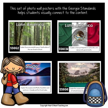 Georgia Standards of Excellence 6th Grade Social Studies Posters