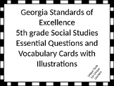 Georgia Standards of Excellence Essential Questions for 5t