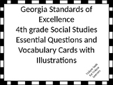 Georgia Standards of Excellence Essential Questions for 4th grade Social Studies
