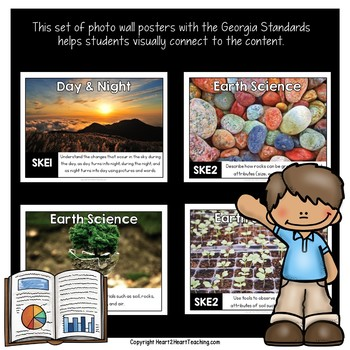 Georgia Standards of Excellence Kindergarten Science Posters