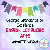 Georgia Standards of Excellence Posters Seventh Grade Engl