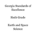 Georgia Standards of Excellence Science Sixth Grade Standards