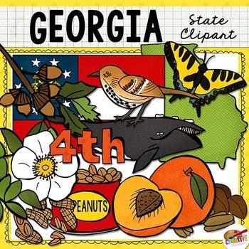 Georgia State Clip Art