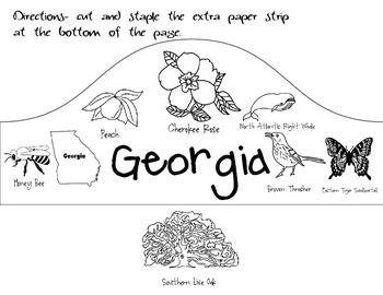 Georgia State Fact Hat