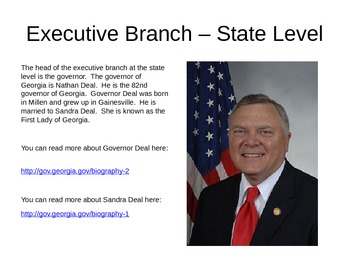 Georgia State Government Power Point