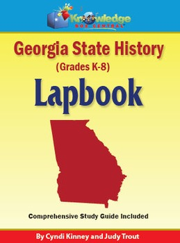Georgia State History Lapbook