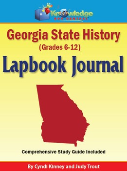 Georgia State History Lapbook Journal
