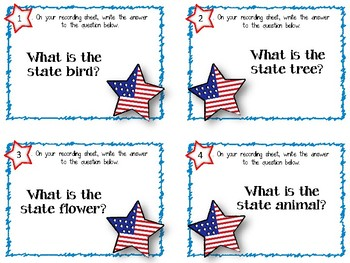 Georgia State History. Task Cards. Answer Key Included!