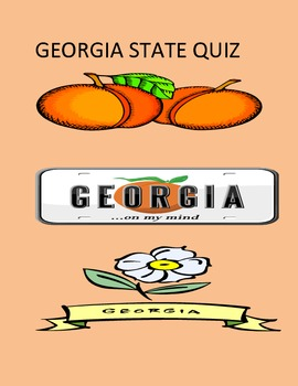 Georgia State Quiz- State History