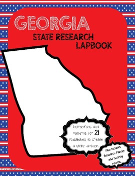 Georgia State Research Lapbook Interactive Project