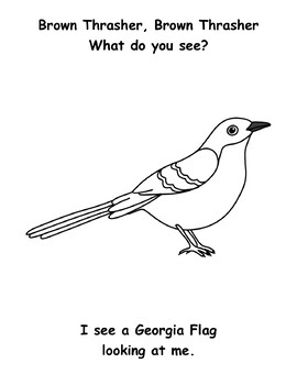 Georgia State Symbols Student Book