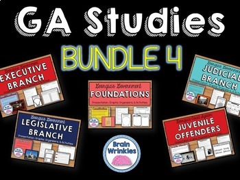 Georgia Studies Bundle Four (Government)