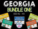 Georgia Studies Bundle One (SS8H1, SS8H2, SS8H3)