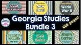 Georgia Studies Bundle Three