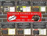 Georgia Studies Bundle Three (SS8H8 - SS8H12)