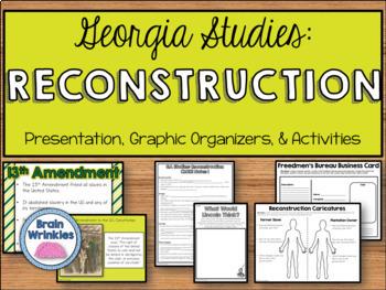 Georgia Studies Bundle Two (SS8H4, SS8H5, SS8H6, SS8H7)