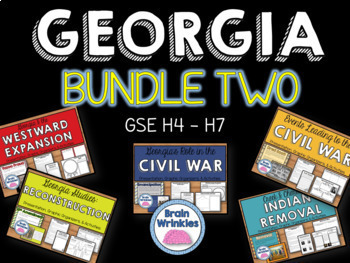 Georgia Studies Bundle Two