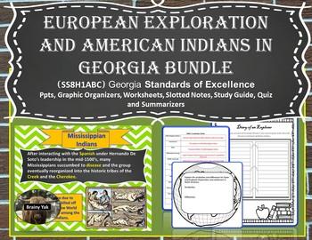 Georgia Studies: European Exploration and American Indians in Georgia (SS8H1)