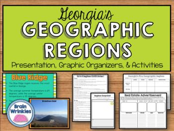 Georgia Studies: Five Geographic Regions (SS8G1)
