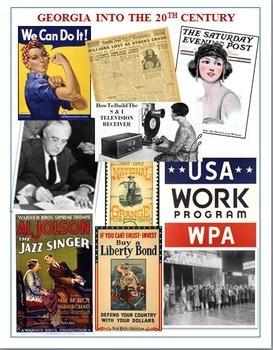 Georgia Studies: Ga into the 20th Century Reading Guide