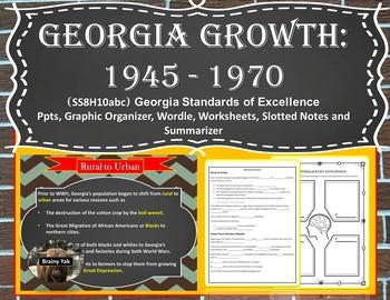 Georgia Studies: Georgia's Growth 1945 - 1970 (SS8H10abc)