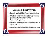 Georgia Studies Government Standards and Vocabulary