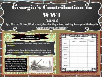 Georgia Studies: Great Depression (SS8H8ab)