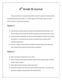 Georgia Studies Journal-8th Grade Social Studies Journal