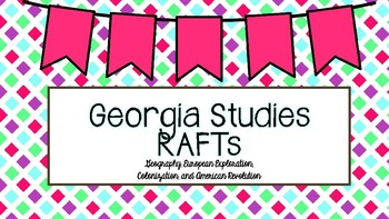 Georgia Studies RAFTs Preview