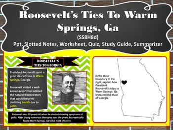 Georgia Studies: Roosevelt's New Deal (SS8H8cde)