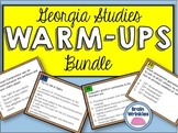 Georgia Studies Warm Ups Bundle