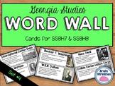 Georgia Studies Word Wall: Set 4