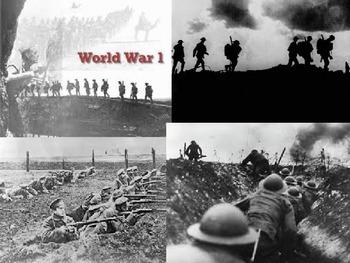 Georgia Studies World War I & Woodrow Wilson PPT (Day 1 of WW)I