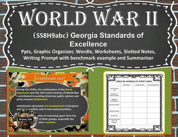 Georgia Studies: World War II (SS8H9abc)