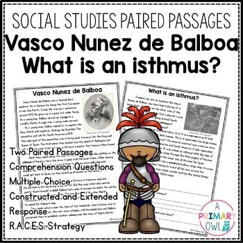 Georgia Test Prep Packet: Vasco Nunez de Balboa and What is an isthmus?