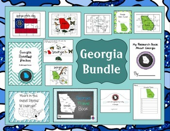 Georgia Themed Bundle- 13 resources