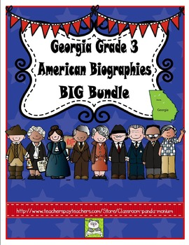 US Historical Figures BIG Bundle
