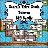 Georgia Third Grade Science BIG Bundle (Meets New GSE's)