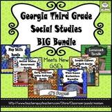 Georgia Third Grade Social Studies BIG Bundle (Meets New GSE's)